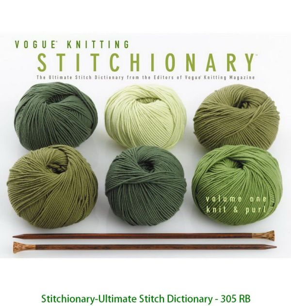 Stitchionary-Ultimate Stitch Dictionary - 305 RB