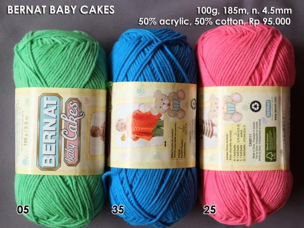 Bernat Baby Cakes