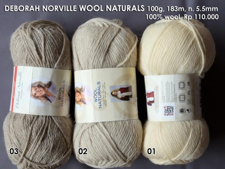 Deborah Norville Wool Naturals