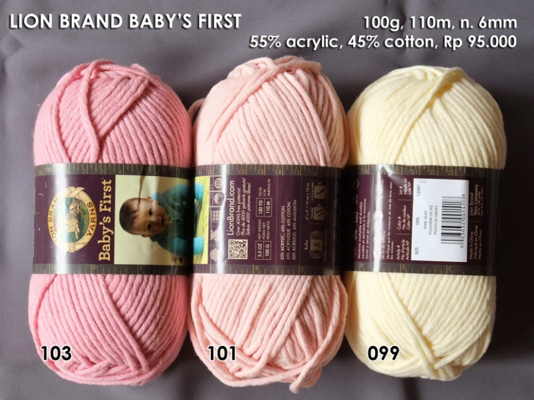 Lion Brand Baby's First
