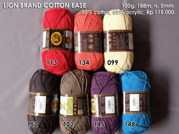 Lion Brand Cotton Ease