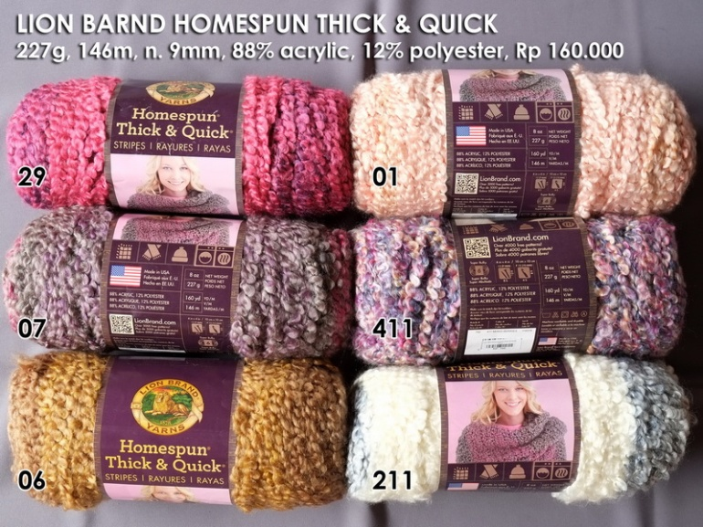 Lion Brand Homespun Thick & Quick