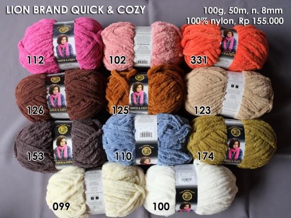 Lion Brand Quick & Cozy