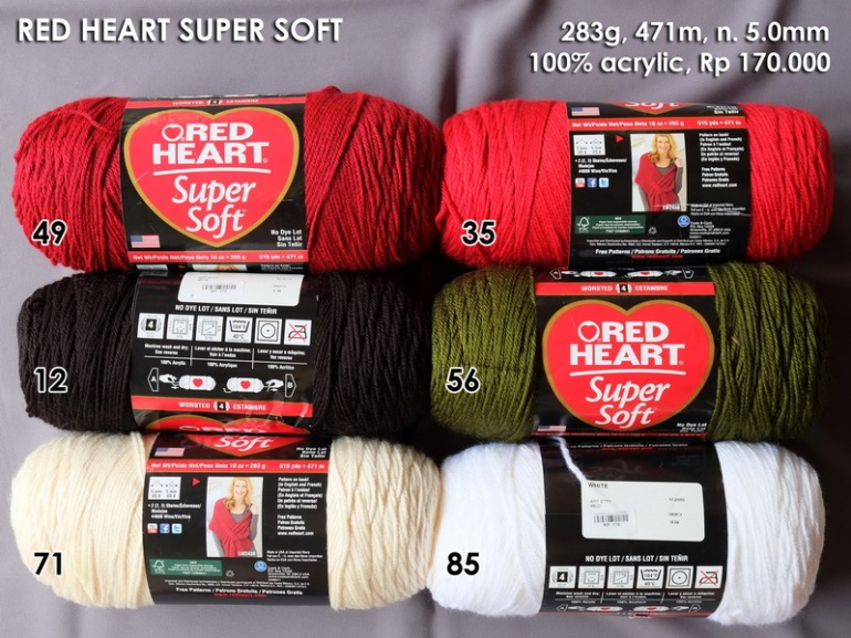 Red Heart Super Soft