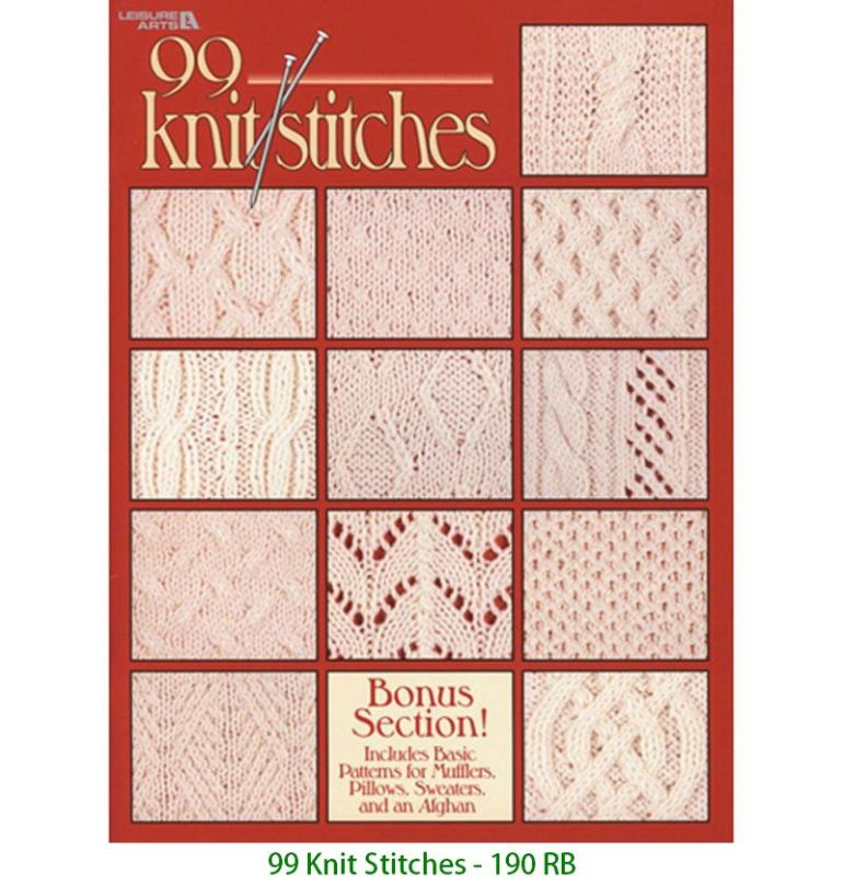 99 Knit Stitches - 190 RB