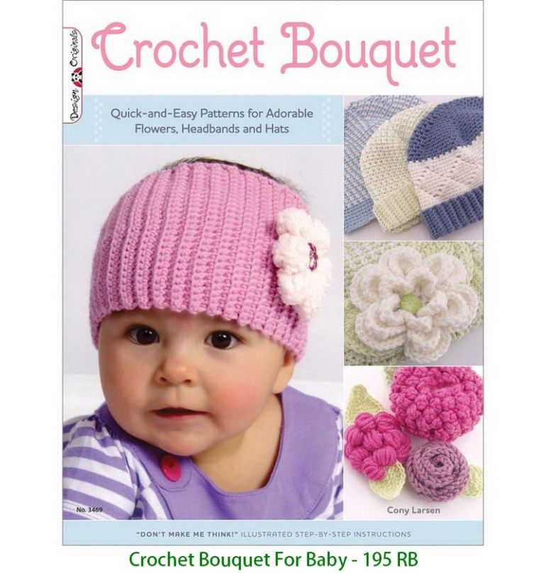 Crochet Bouquet For Baby - 195 RB