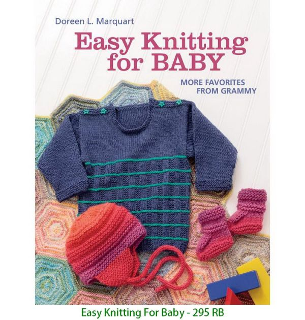 Easy Knitting For Baby - 295 RB