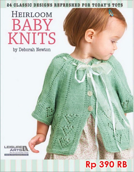 Heirloom Baby Knits - 390 RB