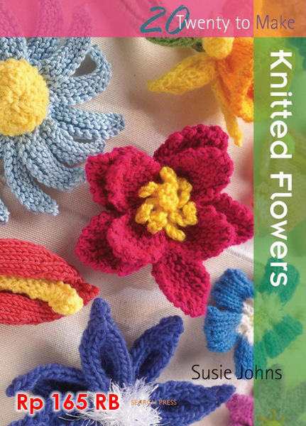 Knitted Flowers (20 To Make) - 165 RB