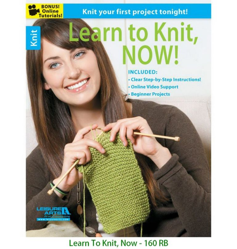 Learn To Knit, Now - 160 RB