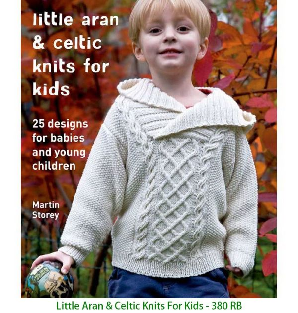 Little Aran & Celtic Knits For Kids - 380 RB
