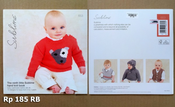 Sirdar Book #653 Sublime Baby Knit