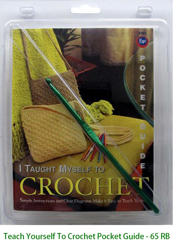 Teach Yourself To Crochet Pocket Guide - 65 RB
