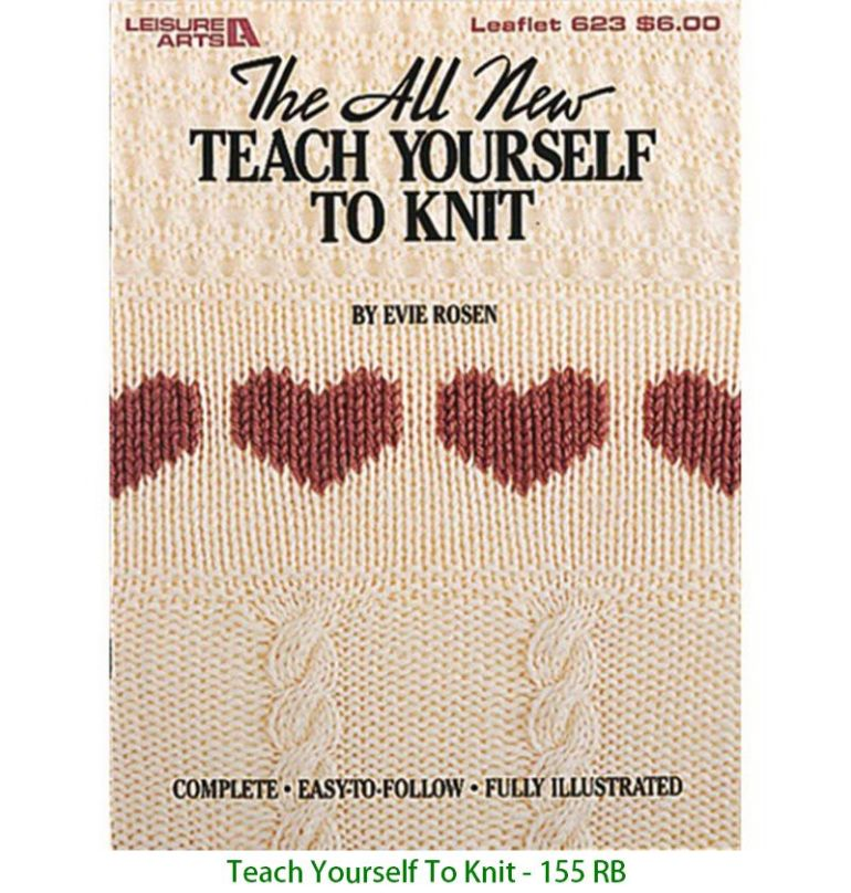 Teach Yourself To Knit - 155 RB