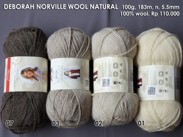 Deborah Norville Wool Natural