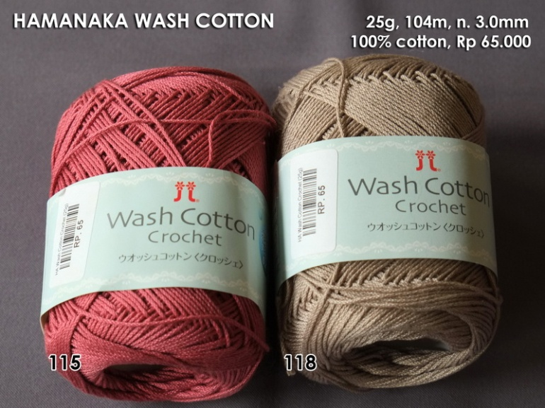 Hamanaka Wash Cotton Crochet