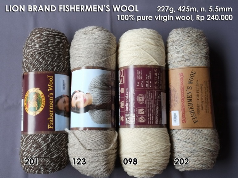 Lion Brand Fishermen's Wool