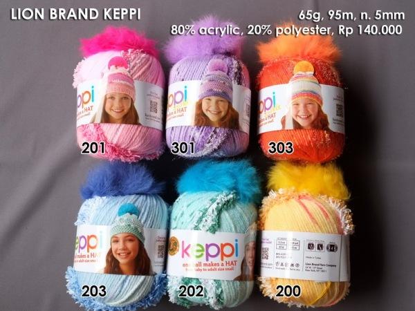 Lion Brand Keppi