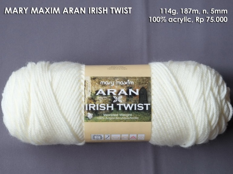 Mary Maxim Aran Irish Twist