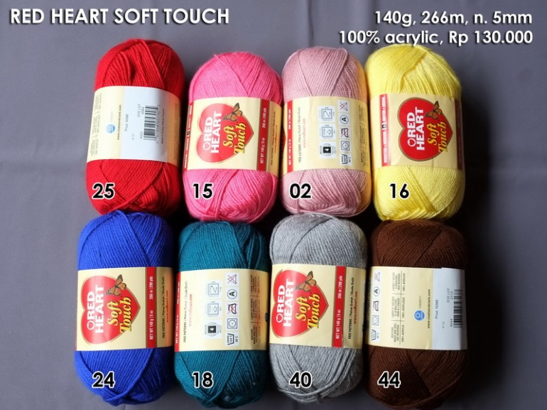 Red Heart Soft Touch