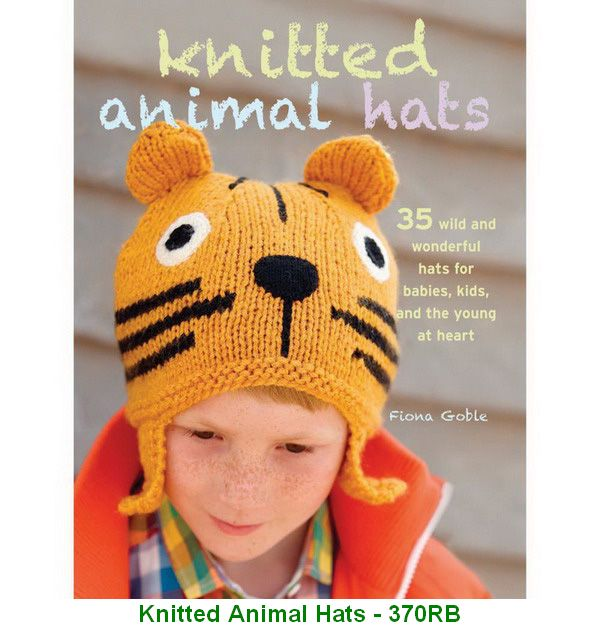 Knitted Animal Hats - 370RB