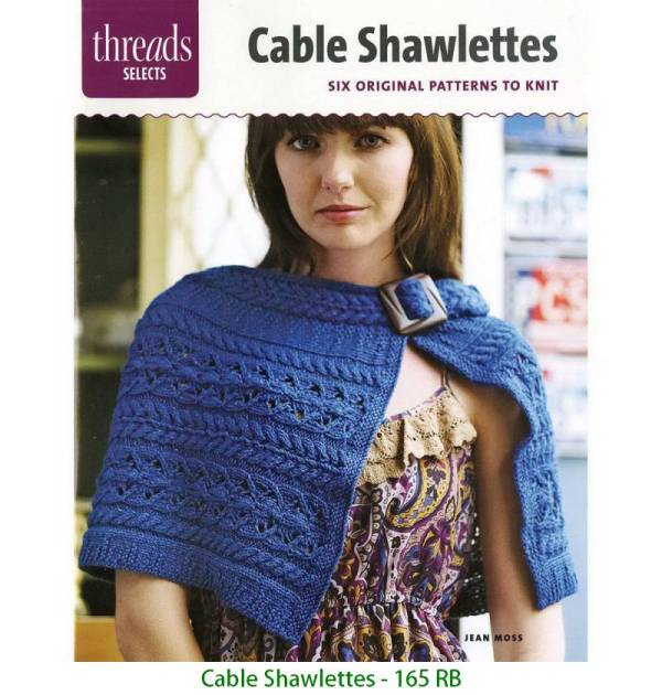 Cable Shawlettes - 165 RB