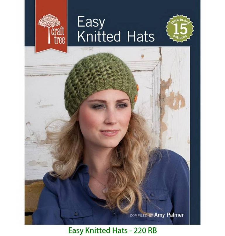 Easy Knitted Hats - 220 RB