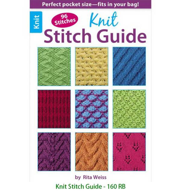 Knit Stitch Guide - 160 RB
