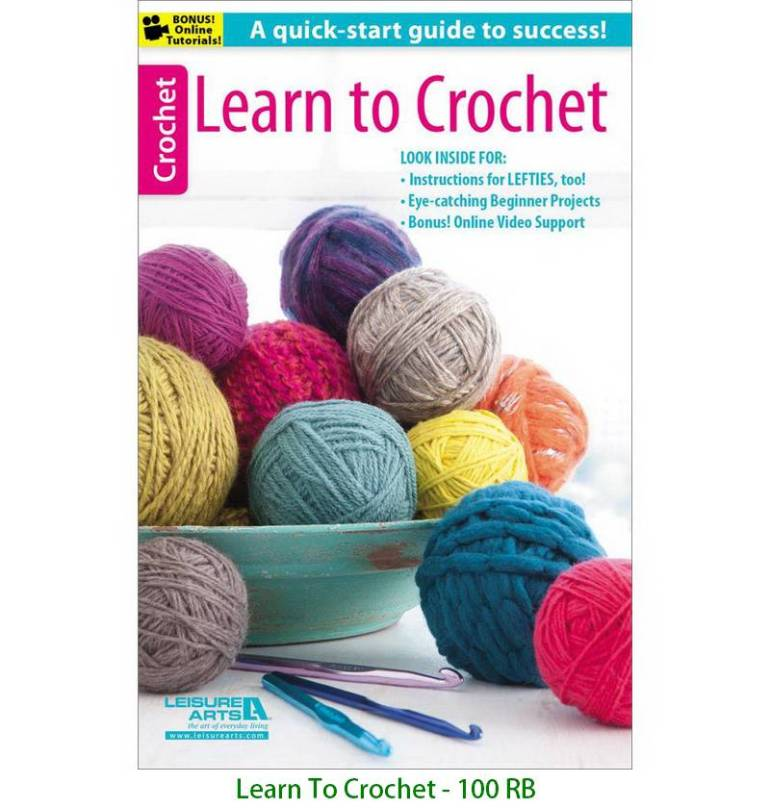 Learn To Crochet - 100 RB