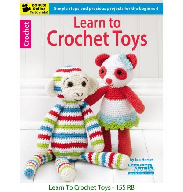 Learn To Crochet Toys - 155 RB