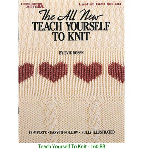 Teach Yourself To Knit - 160 RB