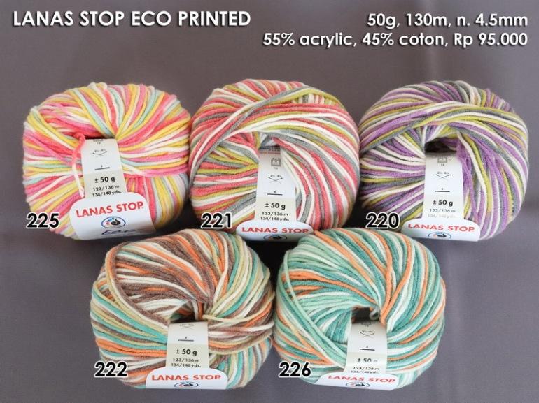 Lanas Stop Eco Printed