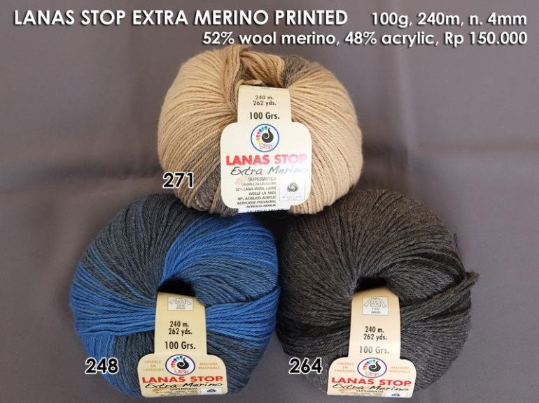 Lanas Stop Extra Merino Printed