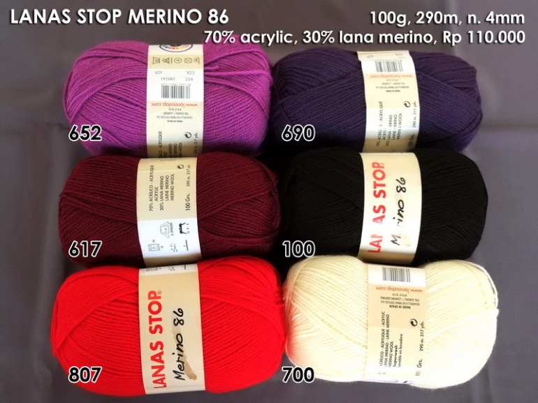 Lanas Stop Merino 86