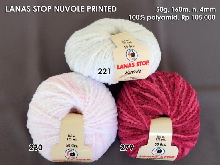 Lanas Stop Nuvole Printed
