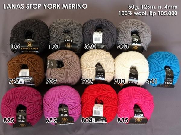 Lanas Stop York Merino