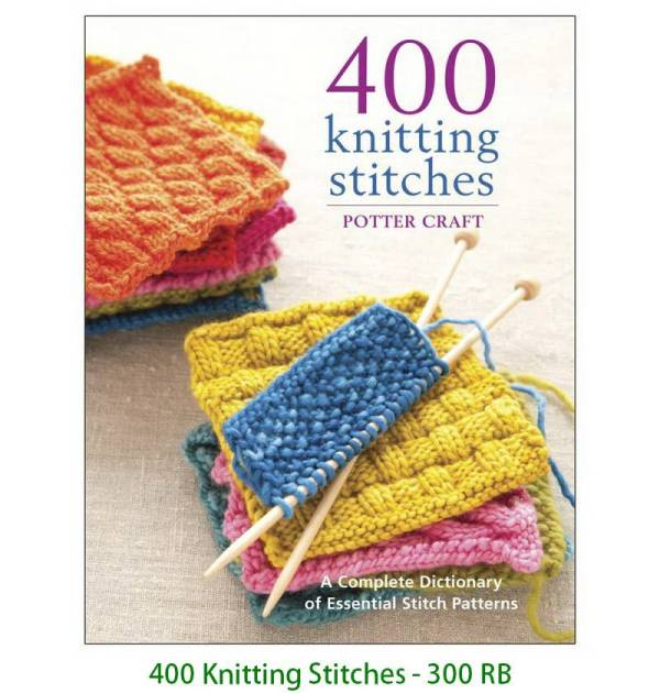 400 Knitting Stitches - 300 RB