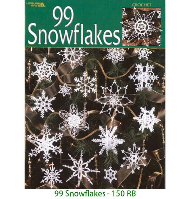 99 Snowflakes - 150 RB