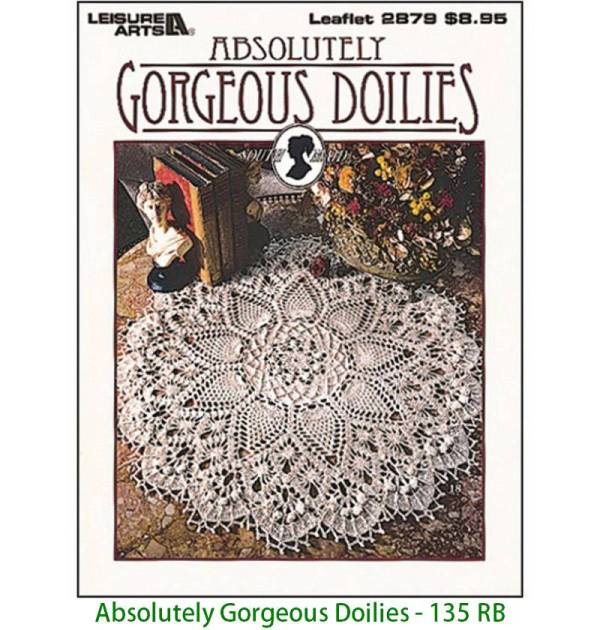 Absolutely Gorgeous Doilies - 135 RB