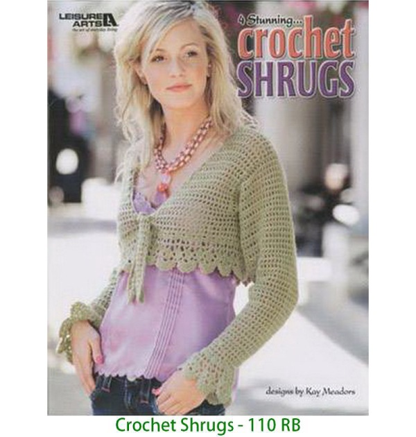 Crochet Shrugs - 110 RB