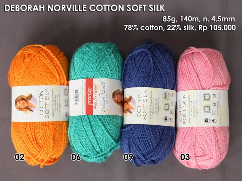 Deborah Norville Cotton Soft Silk