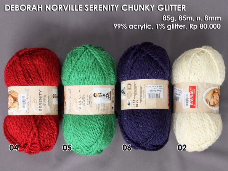 Deborah Norville Serenity Chunky Glitter