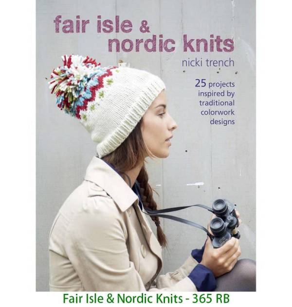Fair Isle & Nordic Knits - 365 RB