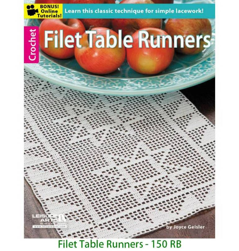 Filet Table Runners - 150 RB