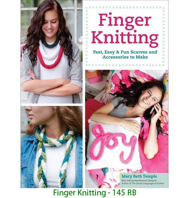 Finger Knitting - 145 RB
