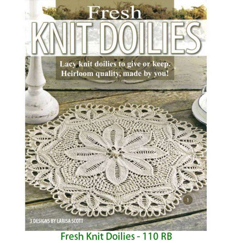 Fresh Knit Doilies - 110 RB