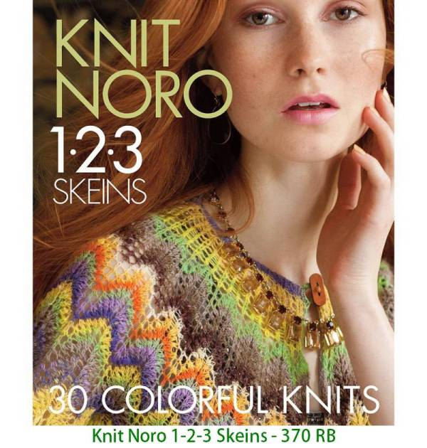 Knit Noro 1-2-3 Skeins - 370 RB