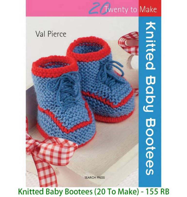 Knitted Baby Bootees (20 To Make) - 155 RB