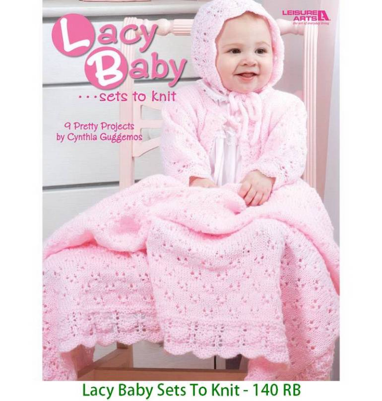 Lacy Baby Sets To Knit - 140 RB