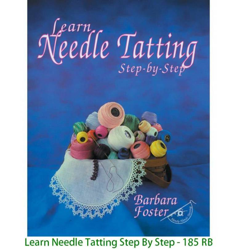 Learn Needle Tatting Step By Step - 185 RB